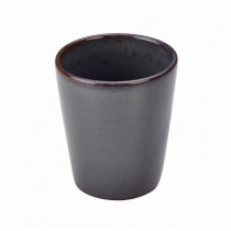 Terra Stoneware Conical Cup Rustic Blue 10cm