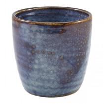 Terra Porcelain Aqua Blue Chip Cup 8.7 x 8.7cm