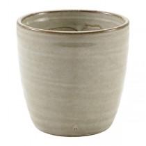 Terra Porcelain Grey Chip Cup 8.7 x 8.7cm