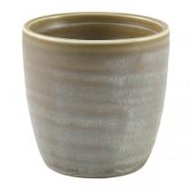 Terra Porcelain Matt Grey Chip Cup 8.7 x 8.7cm