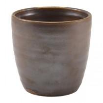 Terra Porcelain Rustic Copper Chip Cup 8.7 x 8.7cm