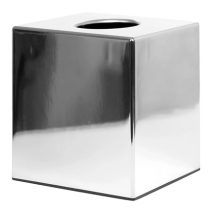 Bolero Chrome Cube Tissue Holder