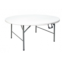 Bolero Round Folding Table