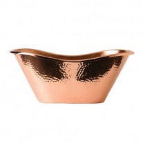 Copper Hammered Bath Tub