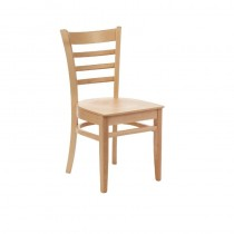Fameg Slatted Side Chairs Natural Beech