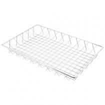 Chrome Display Basket 45 x 30 x 5cm