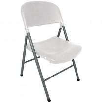 Bolero Foldaway Utility Chairs White