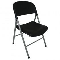 Bolero Foldaway Utility Chairs Black