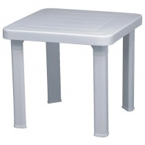 Resol White Sun Lounger Side Table