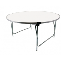 Gopak Round Table White Buffet 5ft