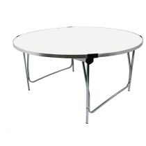 Gopak Round Folding Table White Infant 4ft