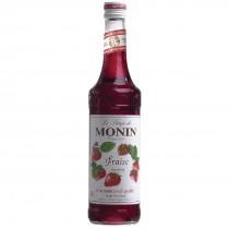 Strawberry Monin Cocktail Syrup 70cl Bottle