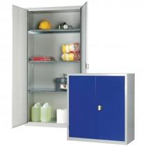 Standard Cupboard Grey 3 Shelves