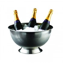 Stainless Steel Champagne Bowl 13ltr
