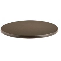 Werzalit Round Table Top Wenge 700mm