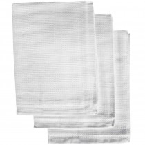 Honeycomb Tea Towels White