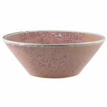 Terra Porcelain Rose Conical Bowl 16cm