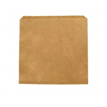 Fiesta Brown Paper Counter Bags Small