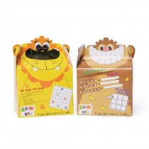 Crafti's Bizzi Kids Boxes Assorted Zoo Lion and Monkey