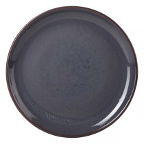 Terra Stoneware Coupe Plate Rustic Blue 24cm