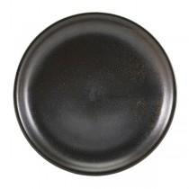 Terra Porcelain Black Coupe Plate 19cm