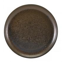 Terra Porcelain Black Coupe Plate 27.5cm