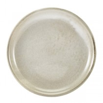 Terra Porcelain Grey Coupe Plate 19cm