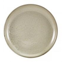 Terra Porcelain Grey Coupe Plate 24cm