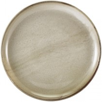 Terra Porcelain Smoke Grey Coupe Plate 30.5cm