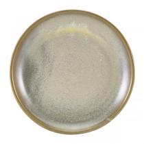 Terra Porcelain Matt Grey Coupe Plate 19cm