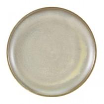 Terra Porcelain Matt Grey Coupe Plate 24cm
