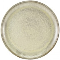 Terra Porcelain Matt Grey Coupe Plate 30.5cm