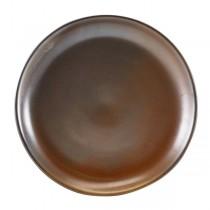 Terra Porcelain Rustic Copper Coupe Plate 24cm