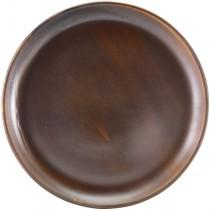 Terra Porcelain Rustic Copper Coupe Plate 30.5cm