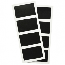 Self Adhesive Rectangular Chalkboard Labels