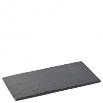 Small Rectangular Slate Platter 26 x 13cm
