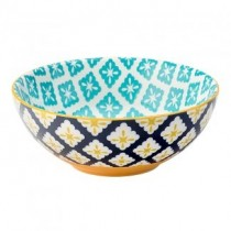 Cadiz Blue & Yellow Bowl 6.3""