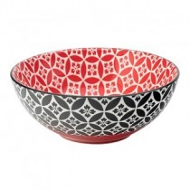 Cadiz Red & Black Bowl 6.3""