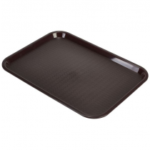 Fast Food Tray Large Chocolate 14 x 18inch