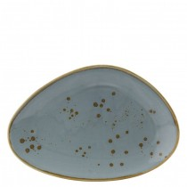 Utopia Earth Thistle Oblong Plate 25cm
