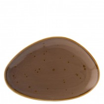 Utopia Earth Mocha Oblong Plate 35.5cm