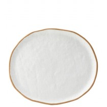 Hessian Plate 29cm x 25cm