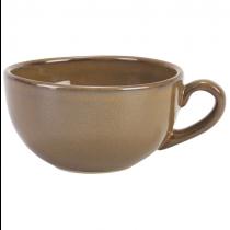 Terra Stoneware Cup Rustic Brown 10.5oz