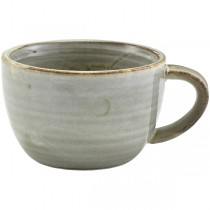 Terra Porcelain Smoke Grey Coffee Cup 28.5cl 10oz