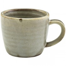 Terra Porcelain Smoke Grey Espresso Cup 9cl 3oz