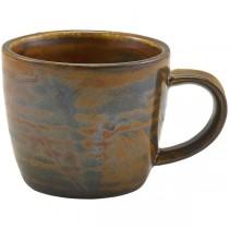 Terra Porcelain Rustic Copper Espresso Cup 9cl 3oz