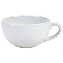 Terra Stoneware Cup Rustic White 10.5oz