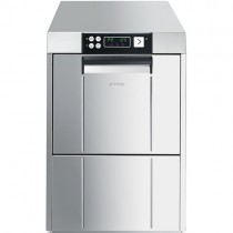 Smeg Topline Professional Glasswasher, Double Skinned, 400mm Basket with Integral Water Softener