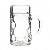 Beer Steins 1.3 Litre 45oz Lined @2 pints CE