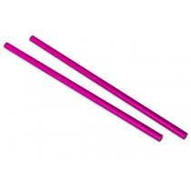 Pink Paper Straws 9inch